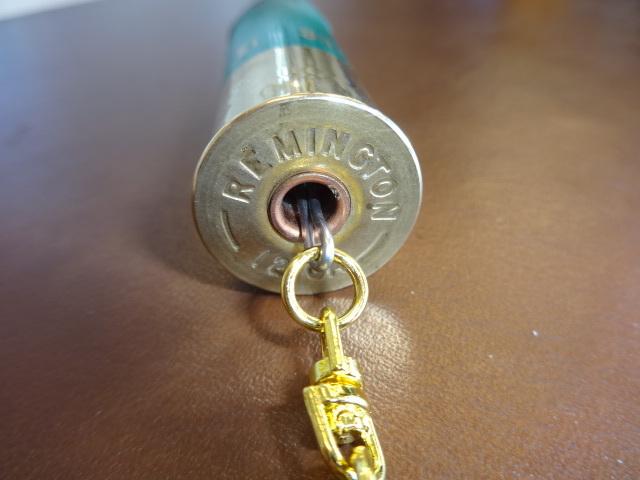レミントン製 散弾空薬莢 キーホルダー レミントン Remington ShurShot 12番4号弾33g ショットガン_画像6