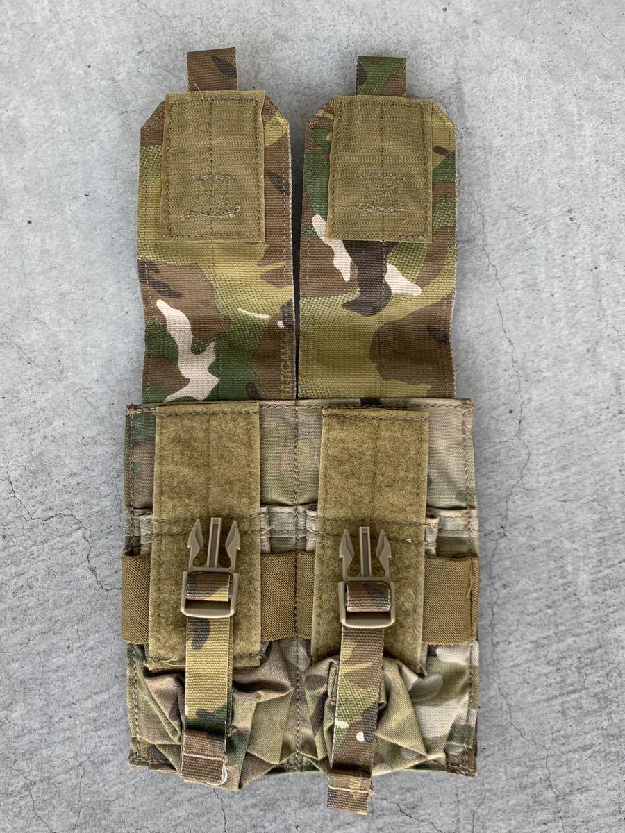 米軍 実物 放出品 EAGLE マルチカム M4 ダブル マガジン ポーチ_画像3