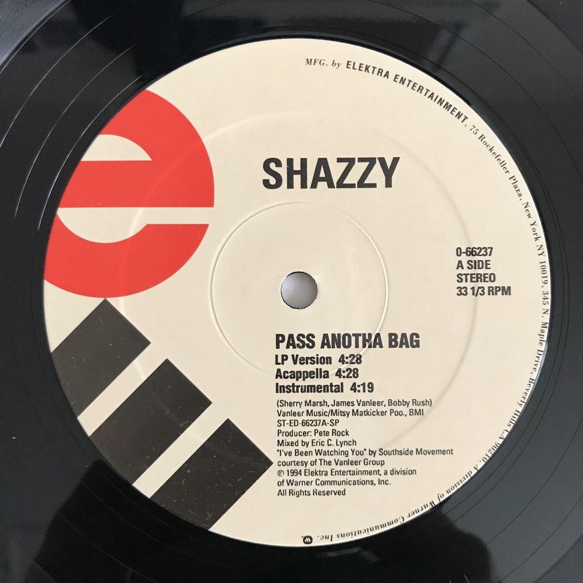 Shazzy - Pass Anotha Bag【US Orig.】【オリジナル】【Pete Rock】【Southside Movement/Tyrone Davis/Ike & Tina Turnerネタ】_画像3