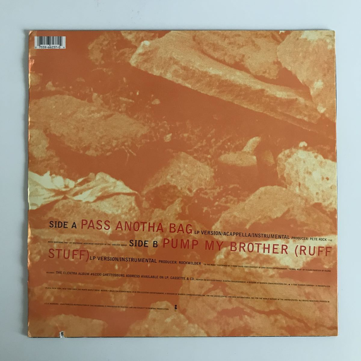 Shazzy - Pass Anotha Bag【US Orig.】【オリジナル】【Pete Rock】【Southside Movement/Tyrone Davis/Ike & Tina Turnerネタ】_画像2