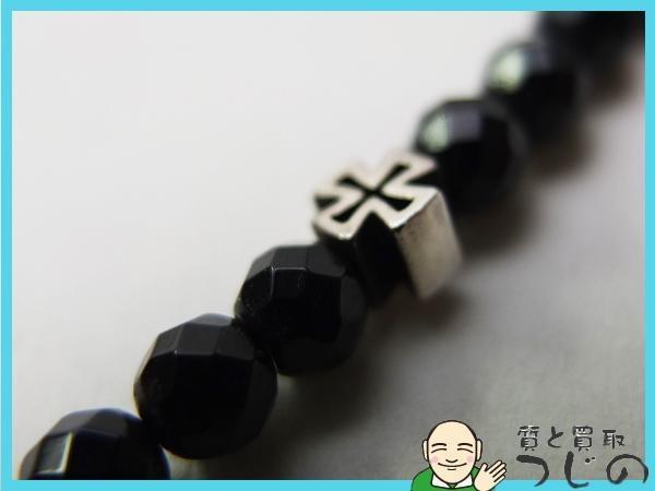 【送料無料】◆JustinDavis◆ジャスティンデイビス ◆SV925 ◆ブラックサーペント・クロスブレスレット Black Serpent/Cross Bracelet_画像3