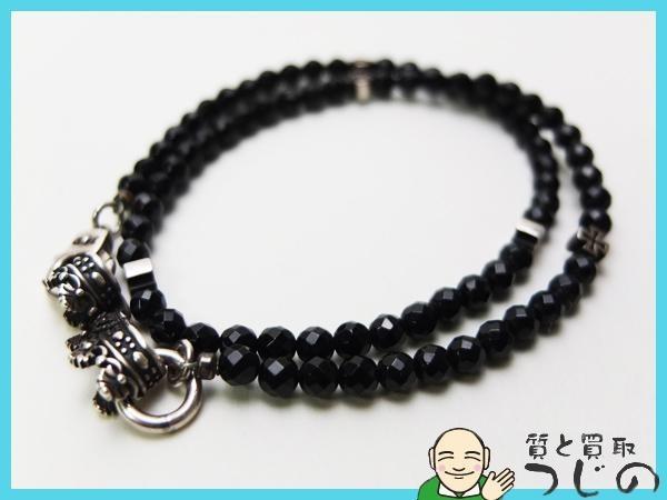 【送料無料】◆JustinDavis◆ジャスティンデイビス ◆SV925 ◆ブラックサーペント・クロスブレスレット Black Serpent/Cross Bracelet_画像1