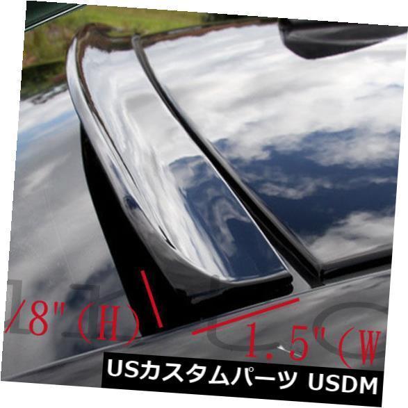 未塗装2008-2011 BMW 128i 2DクーペE82後部ウィンドウルーフスポイラー_画像3
