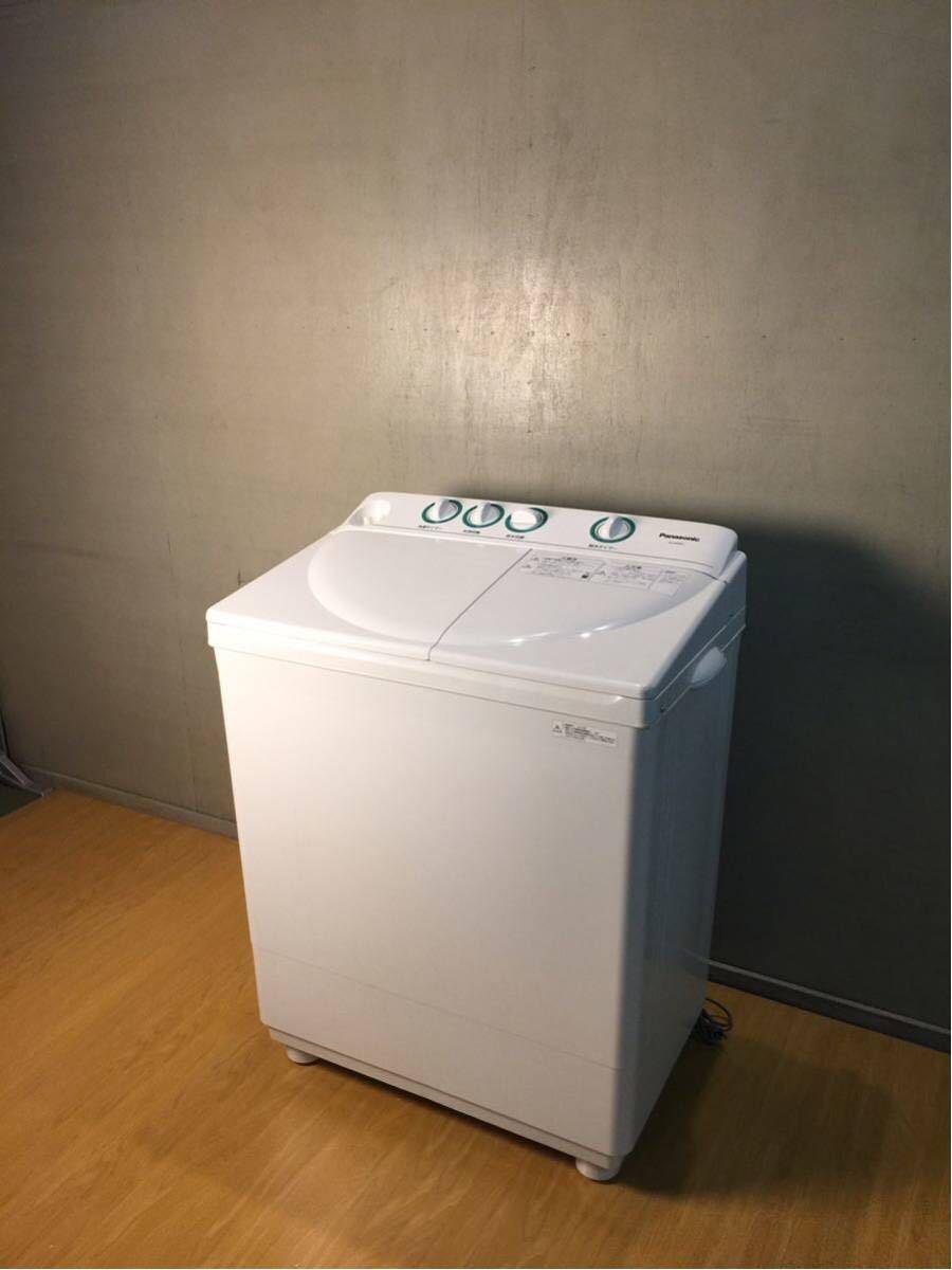 美品 パナソニック 二層式洗濯機 NA-W40G2 2017年製 動作確認済み