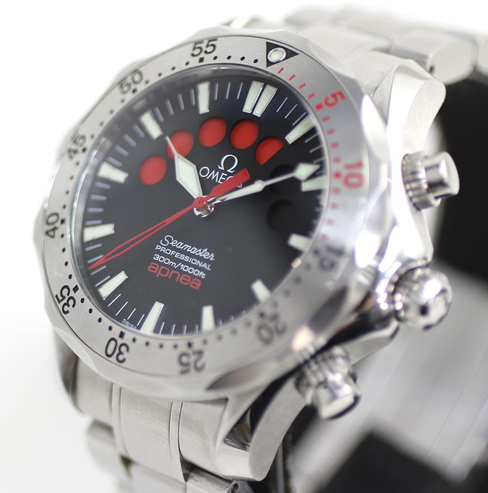 【OMEGA】オメガ シーマスター アプネア 2595.50 自動巻き メンズ 腕時計 管理番号 A_画像3