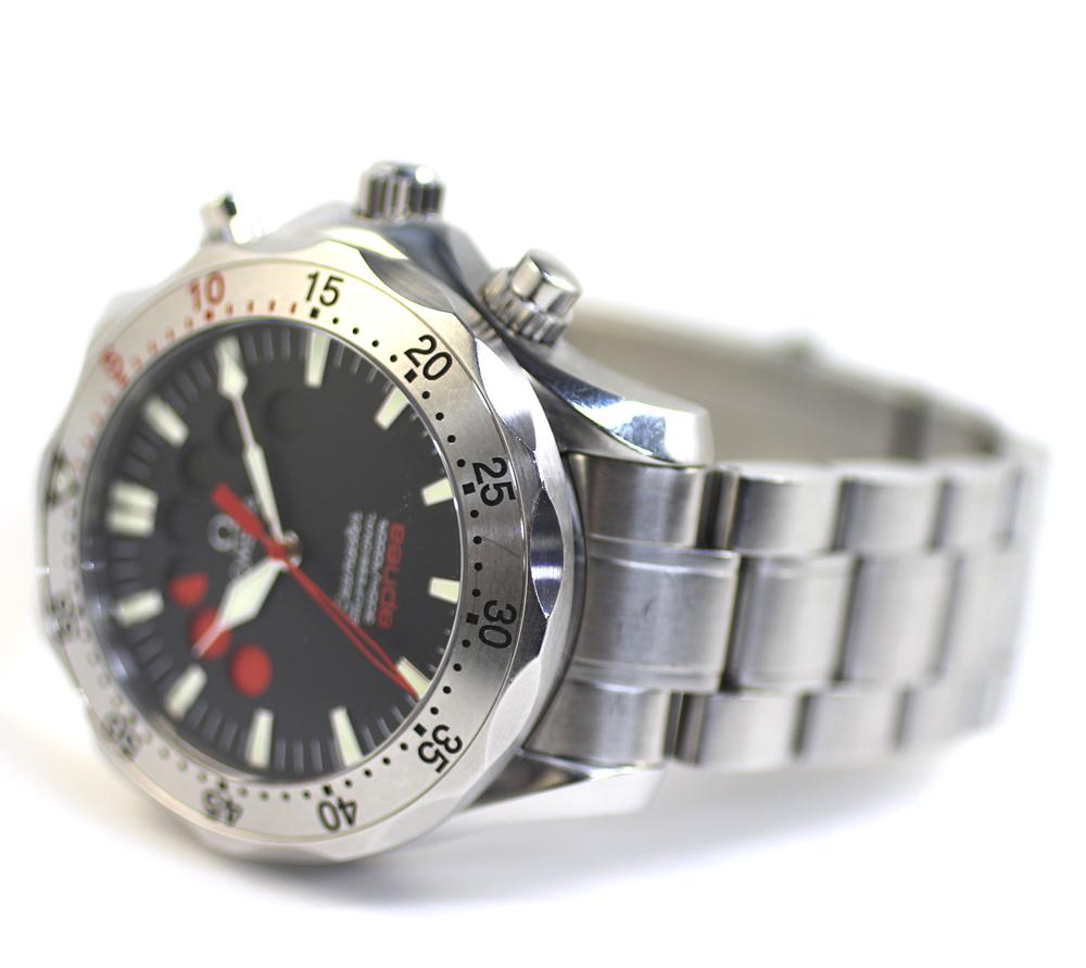 【OMEGA】オメガ シーマスター アプネア 2595.50 自動巻き メンズ 腕時計 管理番号 A_画像7