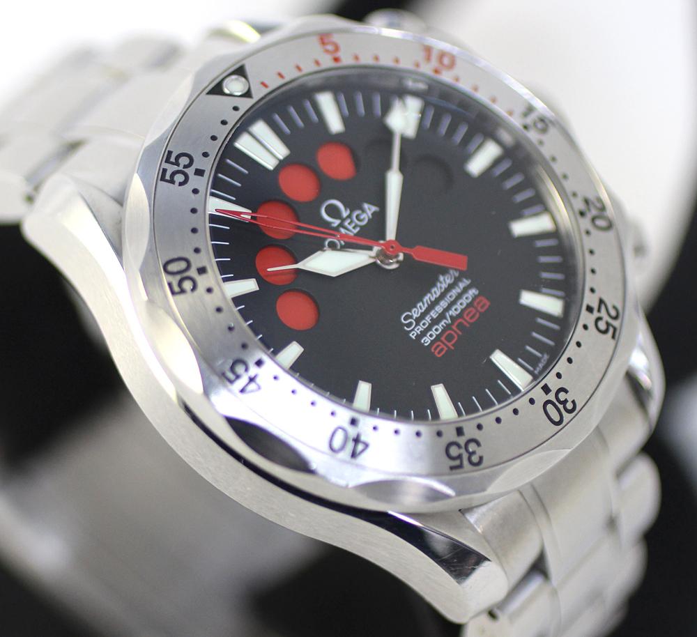 【OMEGA】オメガ シーマスター アプネア 2595.50 自動巻き メンズ 腕時計 管理番号 A_画像4
