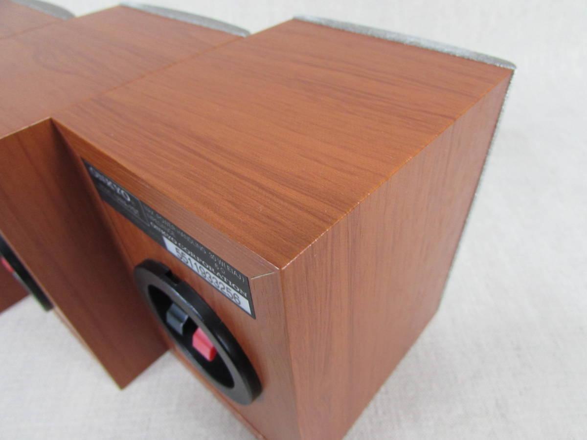 ONKYO オンキョー サテライトスピーカー UWA-7ST 3本セット 美品 サラウンドシステム用_画像10