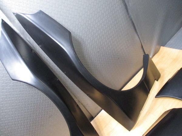 未使用品 Rocket Bunny ロケットバニー ロケバニ TRA京都 BNR32 R32 スカイライン GT-R GTR ワイドボディキット フェンダー エアロ FRP_画像5