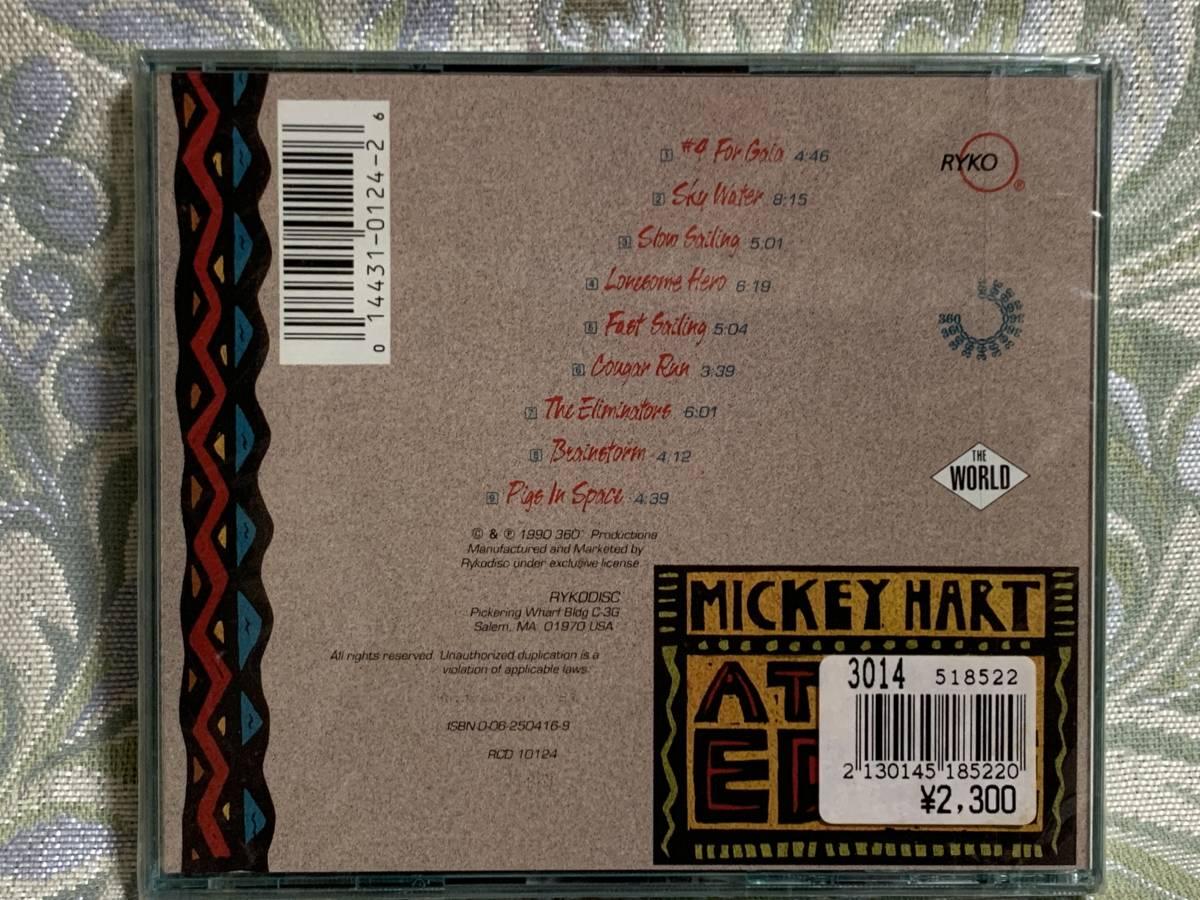 CD MICKEY HART / At The Edge ★新品未開封★輸入盤★