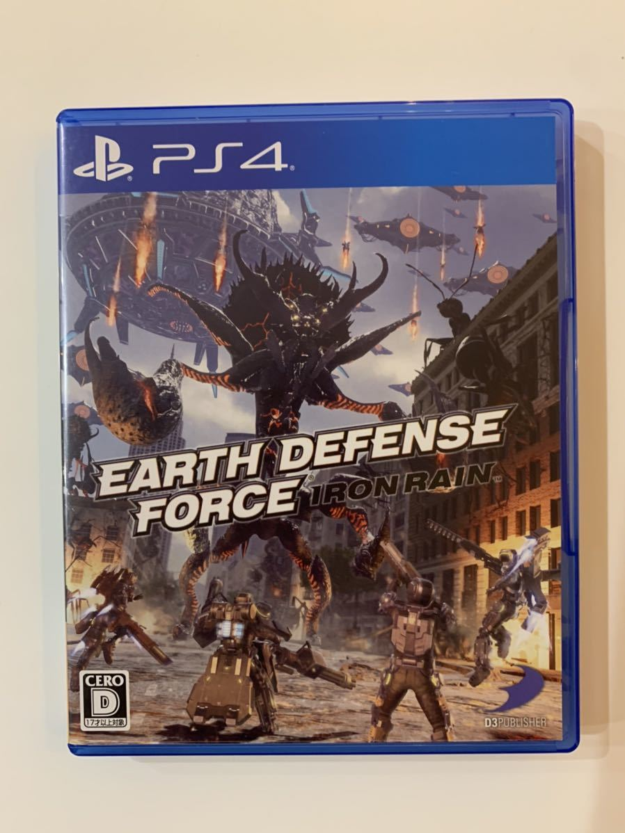 PS4ソフト EARTH DEFENSE FORCE:IRON RAIN