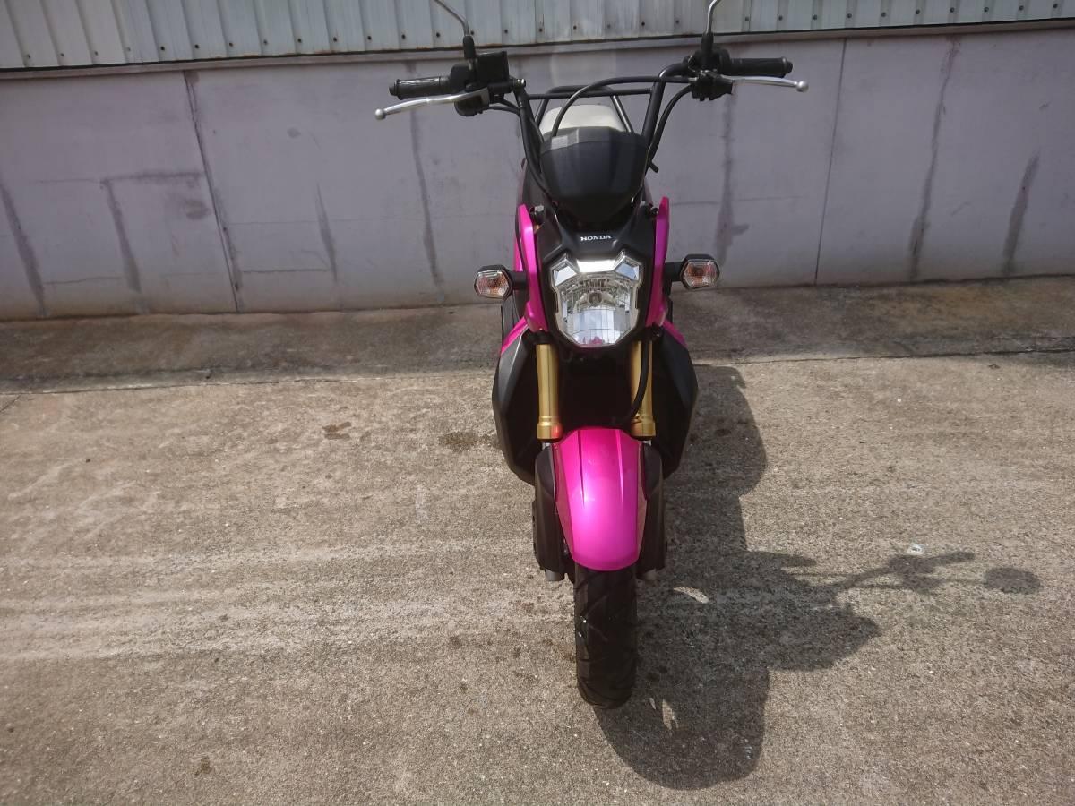「ホンダ ズーマーX ピンク」の画像2