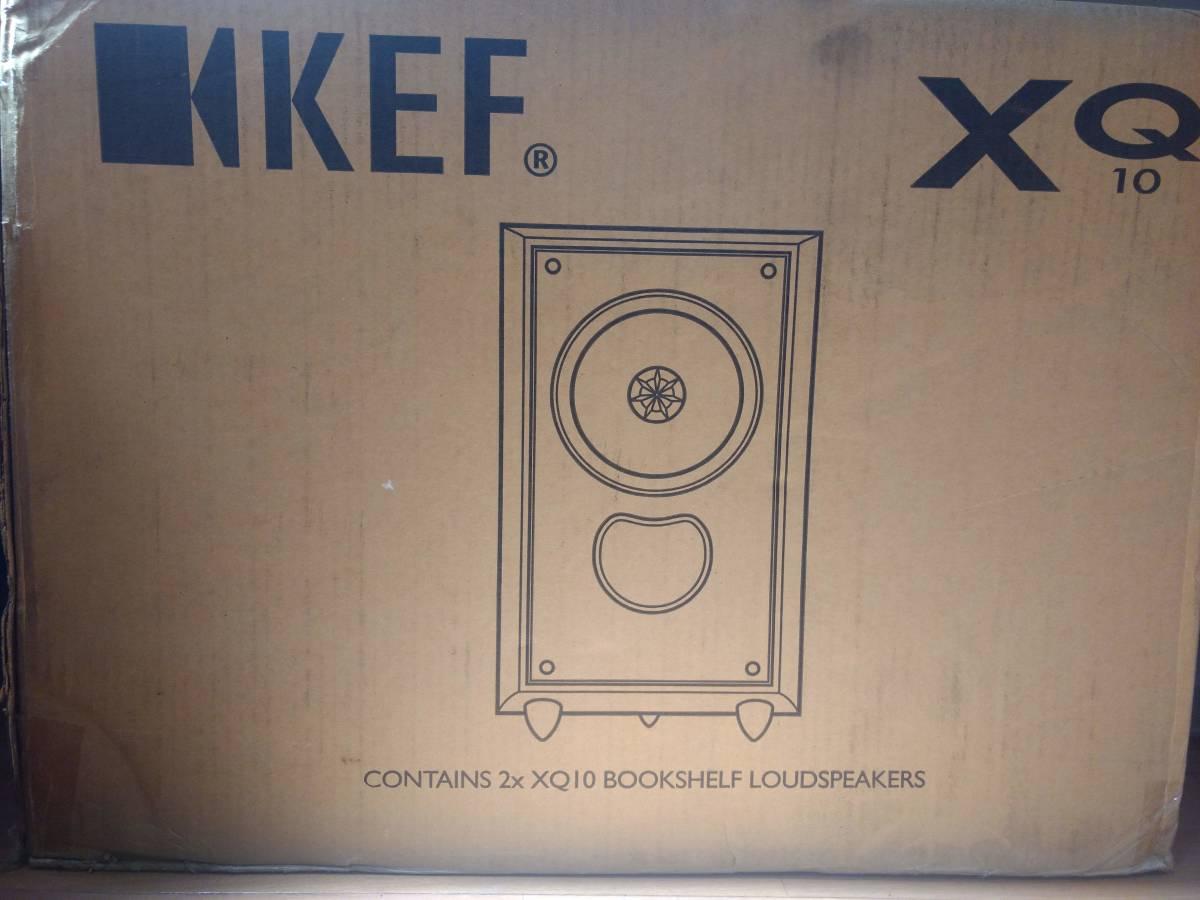 新品 KEF XQ10MA(マホガニー・ペア) 2ウェイブックシェルフ型スピーカーシステム 定価126000円_画像4