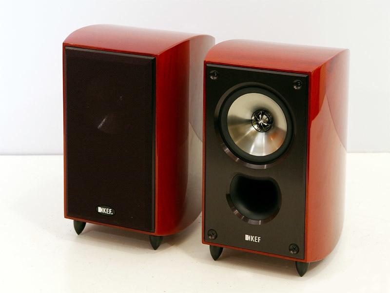 新品 KEF XQ10MA(マホガニー・ペア) 2ウェイブックシェルフ型スピーカーシステム 定価126000円_画像1