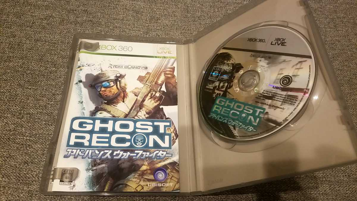XBOX360ソフト ゴーストリコン アドバンス ウォーファイター GHOST RECON PLATINUM COLLECTION