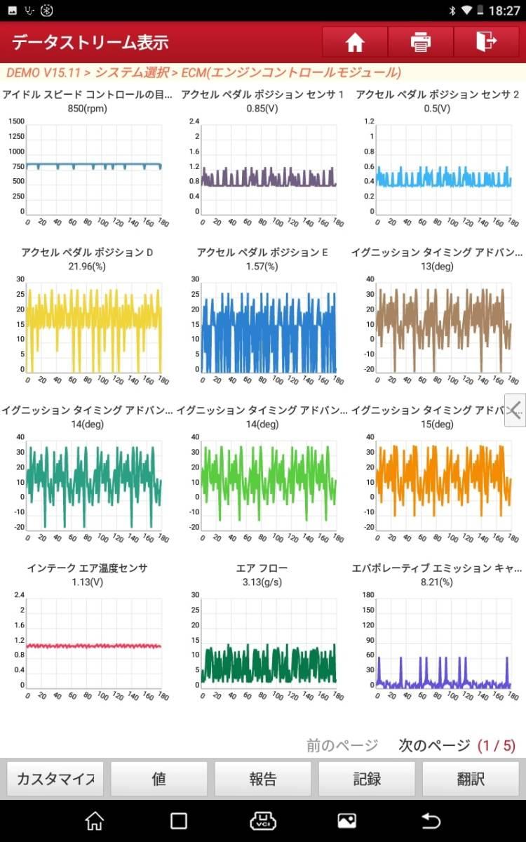 【正規輸入品】LAUNCH X-431 PRO ver4.0 - obd2 スキャンツール 自動車故障診断機 日本語表示 スキャナー 整備 テスター 修理_画像8