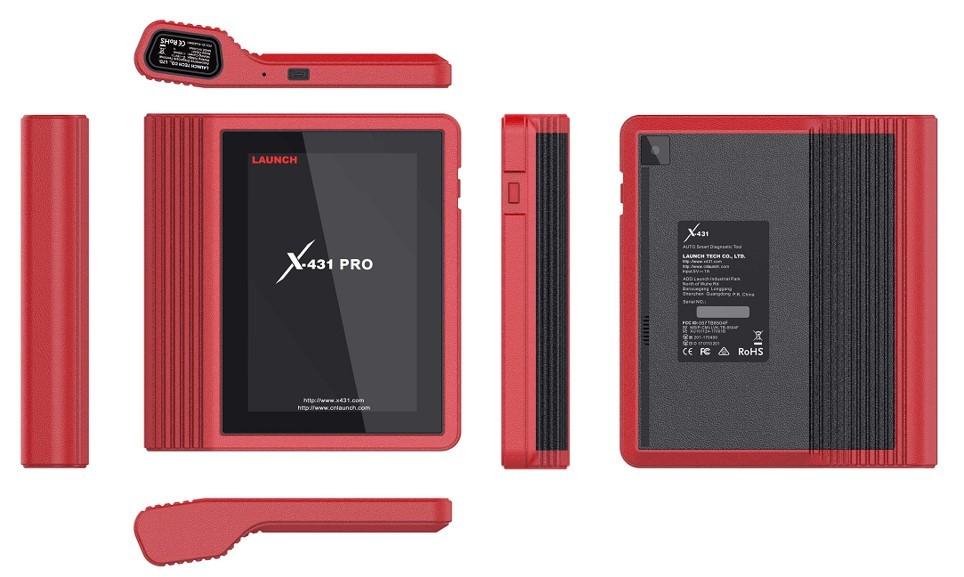 【正規輸入品】LAUNCH X-431 PRO ver4.0 - obd2 スキャンツール 自動車故障診断機 日本語表示 スキャナー 整備 テスター 修理_画像4