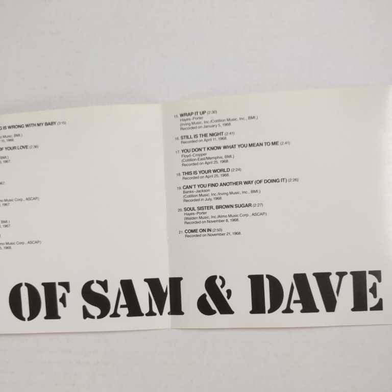 ベスト・オブ・サム&デイヴ 国内盤帯有 the best of sam&dave_画像6