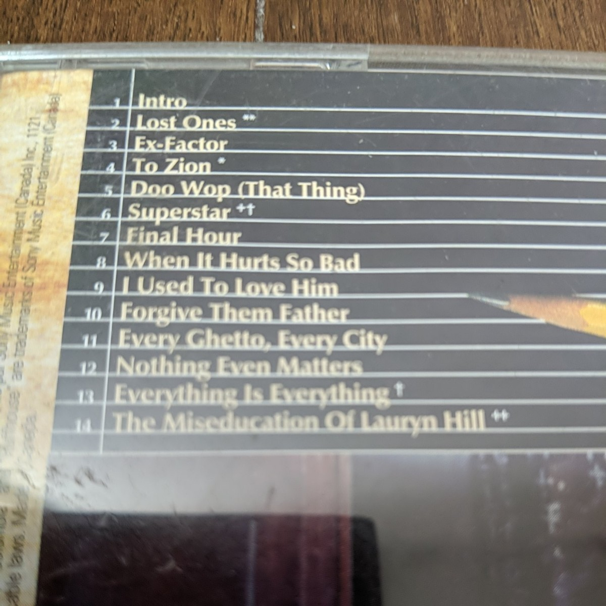 Lauryn Hill ローリンヒル / Miseducation Of CD
