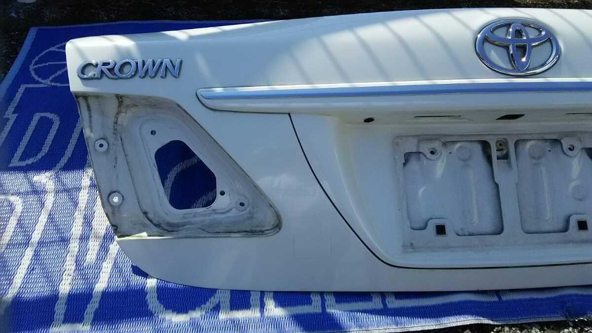 GRS200系 クラウン トランクパネル ロイヤル アスリート_画像5