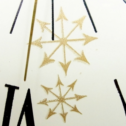 送料無料 アンティークウォールクロック UNITED/ヴィンテージ壁掛け時計アメリカ製usa製ミッドセンチュリー60s70s懐中時計ポケットクロック_画像7