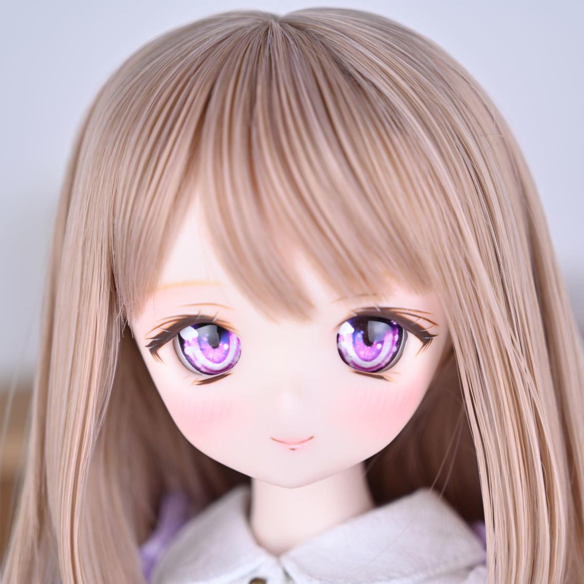 【Forest Lily】DDH-01 セミホワイト肌 カスタムヘッド レジンアイ DD ボークス BJD _画像1