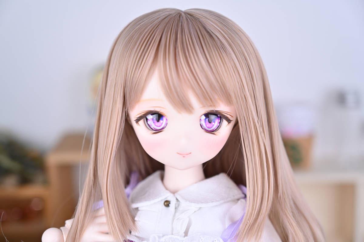 【Forest Lily】DDH-01 セミホワイト肌 カスタムヘッド レジンアイ DD ボークス BJD _画像9