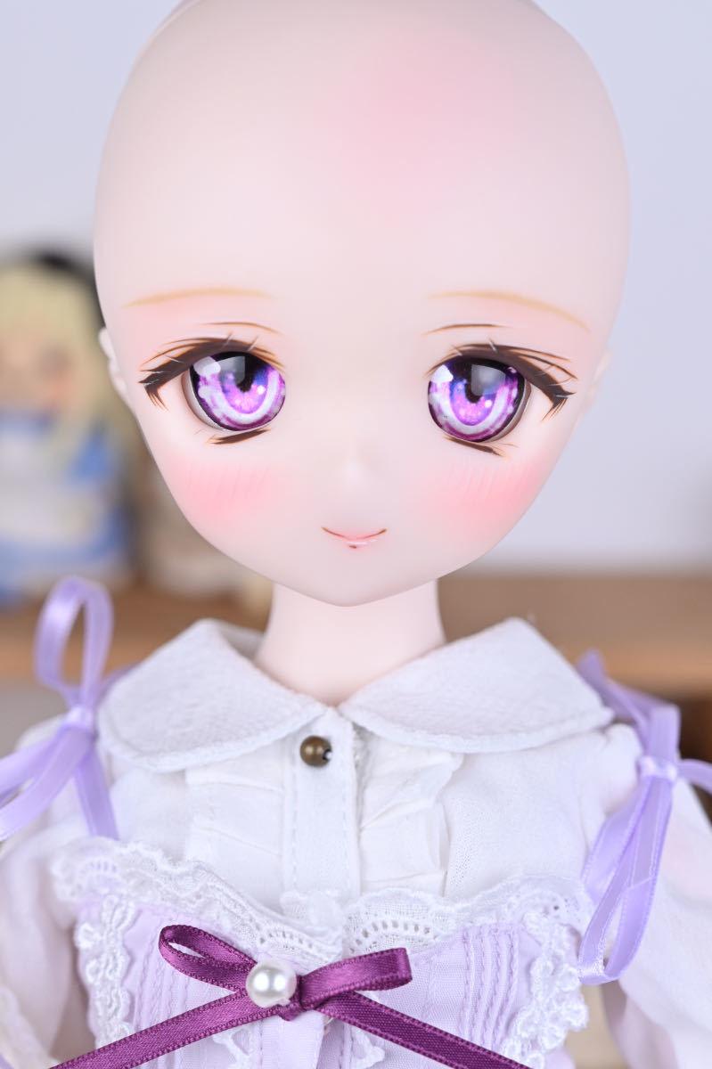 【Forest Lily】DDH-01 セミホワイト肌 カスタムヘッド レジンアイ DD ボークス BJD _画像10