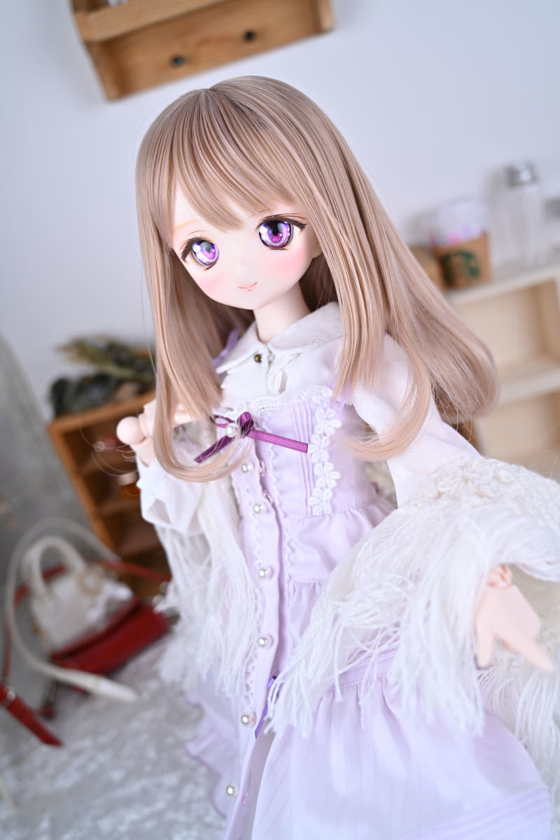 【Forest Lily】DDH-01 セミホワイト肌 カスタムヘッド レジンアイ DD ボークス BJD _画像6