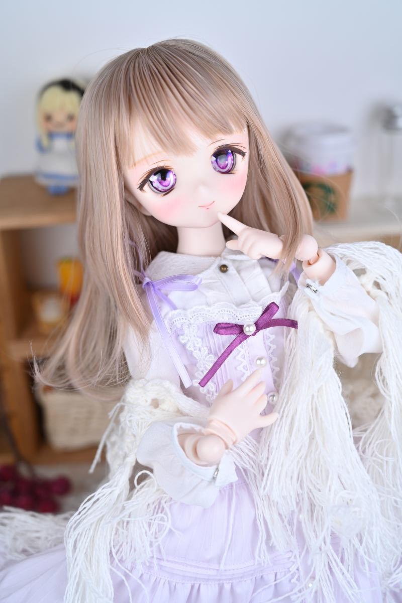 【Forest Lily】DDH-01 セミホワイト肌 カスタムヘッド レジンアイ DD ボークス BJD _画像7
