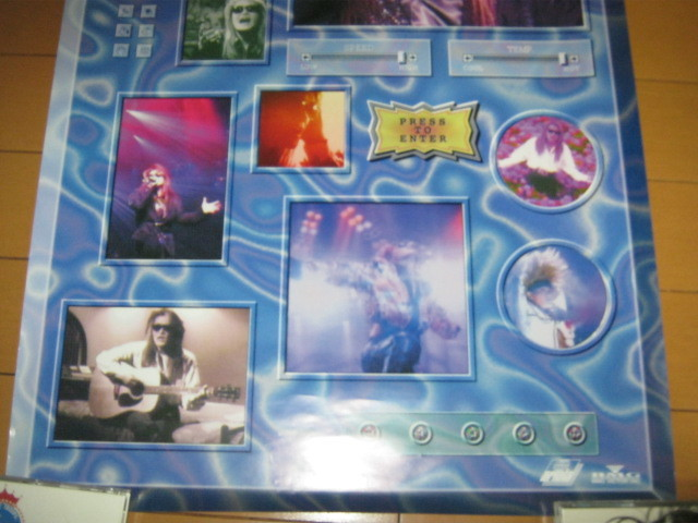 TOSHI / SOLOMOTIONS - performance & clips - 特典ポスター X JAPAN エックス _画像3