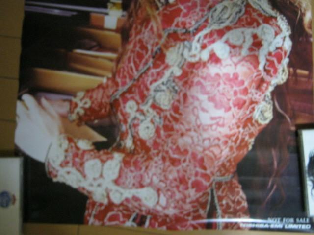 YOSHIKI / TOSHIBA-EMI LIMITED NOT FOR SALE B2サイズ 特典ポスター X JAPAN エックス_画像3