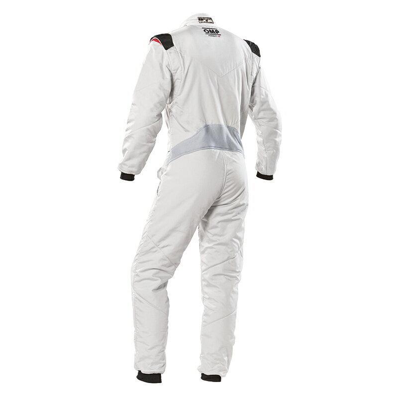 ネット最安値!■2020モデル OMP レーシングスーツ ファーストS シルバー(52) IA01828D08352 [FIA公認]_画像2