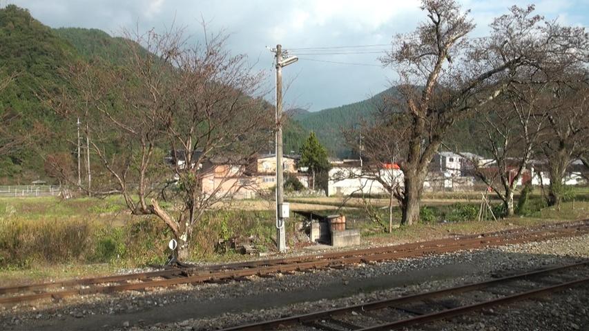 津山線・因美線・若桜鉄道 車窓映像集 (BD-R DL1枚)_若桜駅に到着