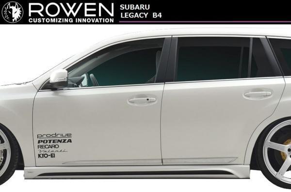 【M's】スバル レガシィ A-E型 B4・ツーリングワゴン 共通 サイドステップ ROWEN / ロエン 1S001J00 BM9/BR9 SUBARU_画像1
