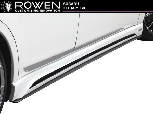 【M's】スバル レガシィ A-E型 B4・ツーリングワゴン 共通 サイドステップ ROWEN / ロエン 1S001J00 BM9/BR9 SUBARU_画像2