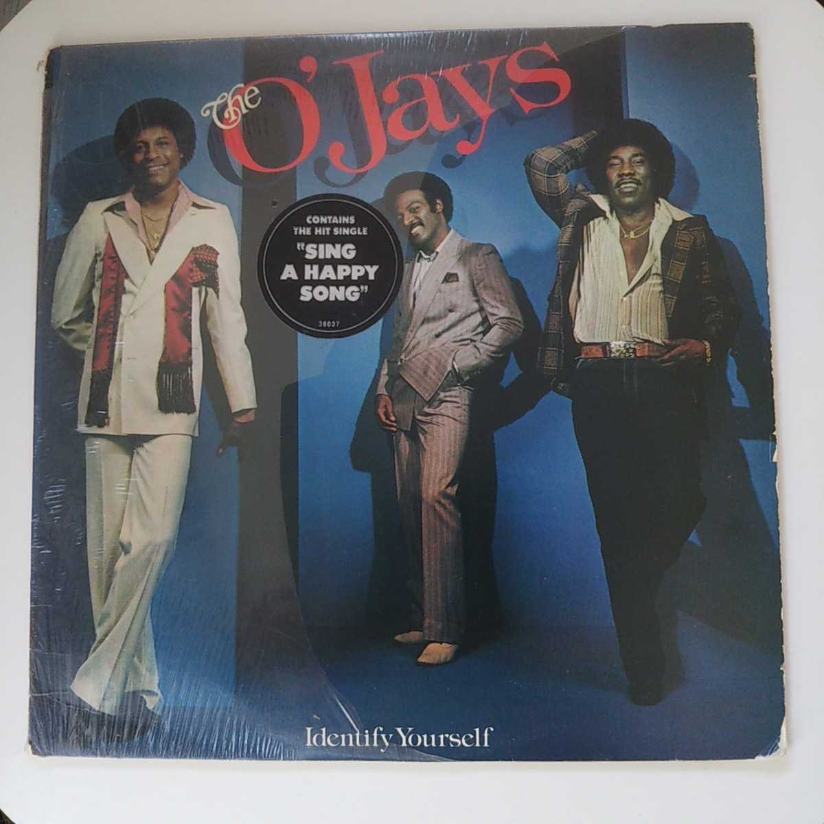 THE O'JAYS / IDENTIFY YOURSELF /LP/SING A HAPPY SONG/GAMBLE & HUFF/DISCO/フィリー/フリーソウル _画像1