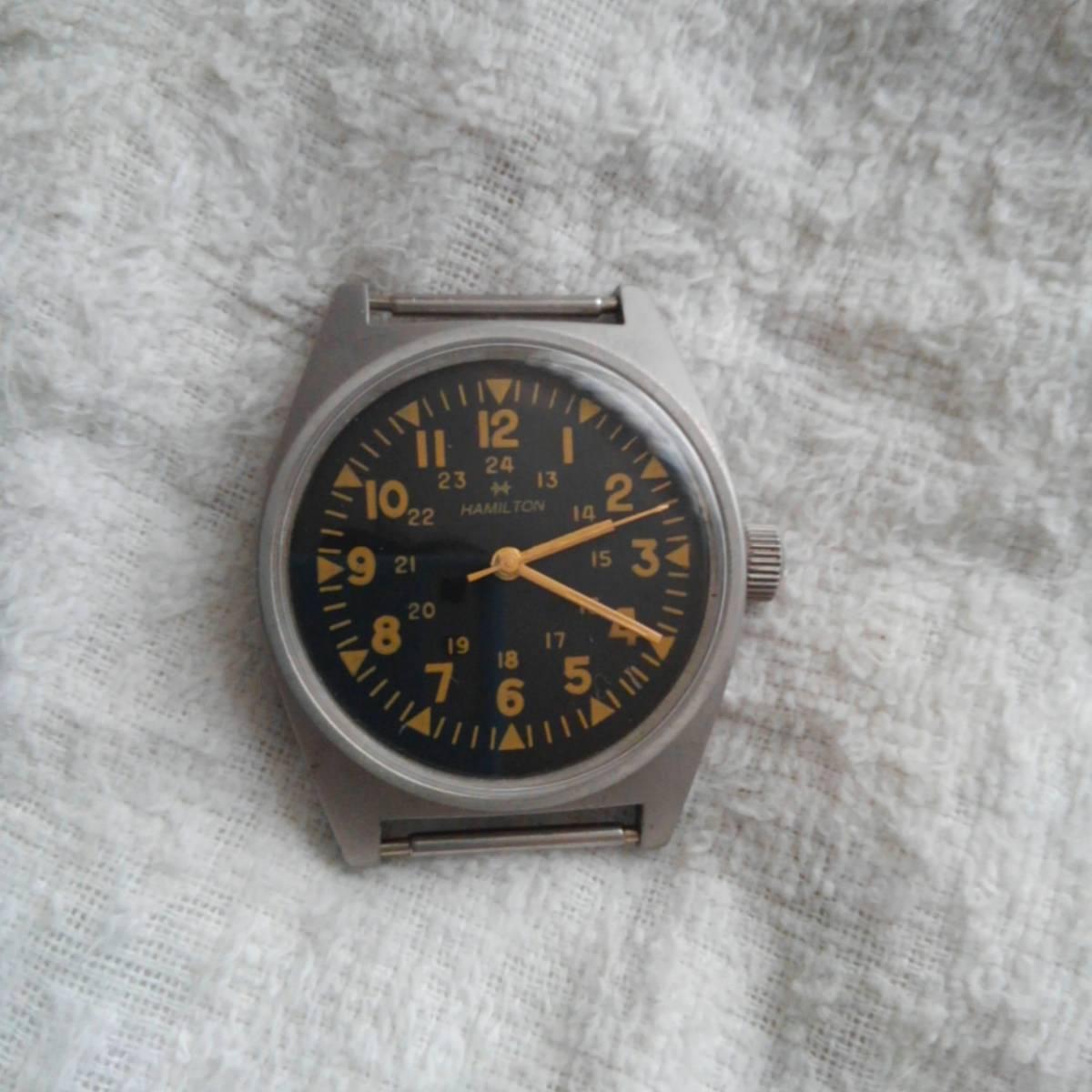 ハミルトン 手巻き 腕時計 1970年製_画像1