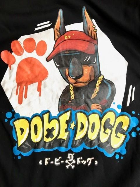 DOBERMAN INFINITY パーカー DOBE×DOGG ドービードッグ M ブラック LDH