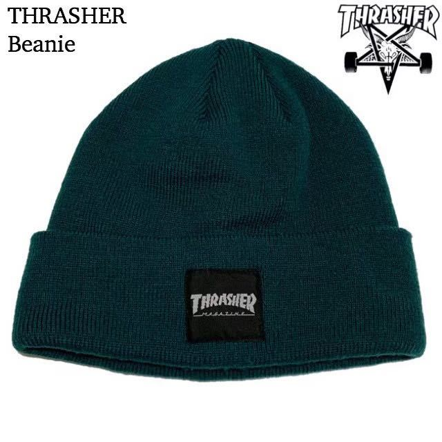 THRASHER スラッシャー ビーニー ニット帽 キャップ cap 帽子 Beanie