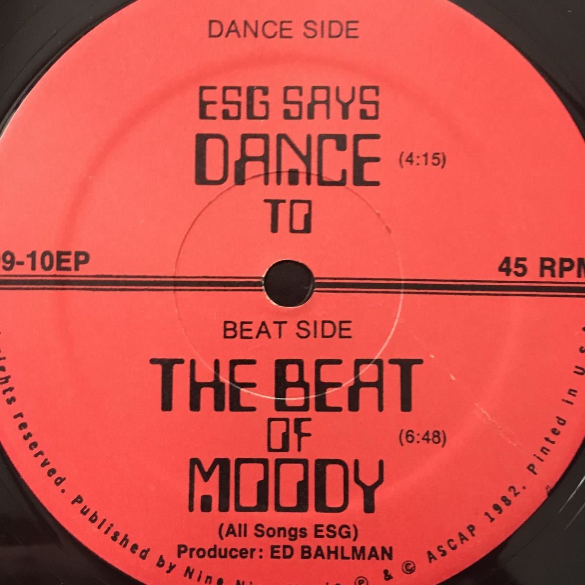 【LP】ESG/ESG SAYS DANCE TO THE BEAT OF MOODY[US ORI:99records:MASTERDISK刻印]★NO NEW YORK SUICIDE 坂本慎太郎 YOUNG MARBLE GIANTS_画像4
