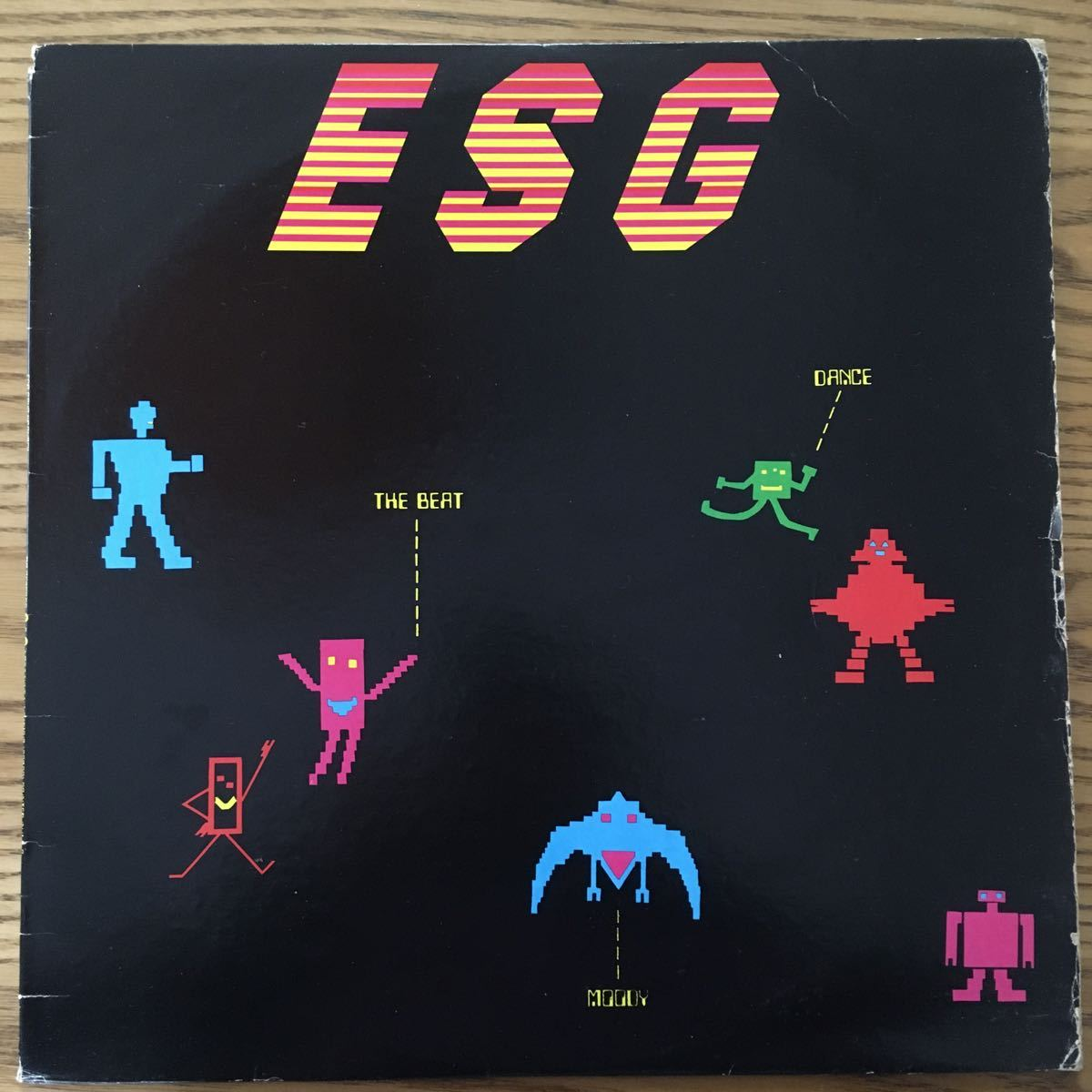 【LP】ESG/ESG SAYS DANCE TO THE BEAT OF MOODY[US ORI:99records:MASTERDISK刻印]★NO NEW YORK SUICIDE 坂本慎太郎 YOUNG MARBLE GIANTS_画像1