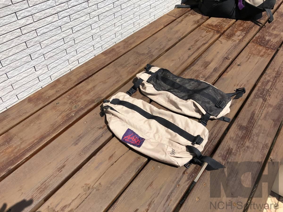 Aarn Bodypack ニュージーランド (マックパック グラナイトギア)_画像4