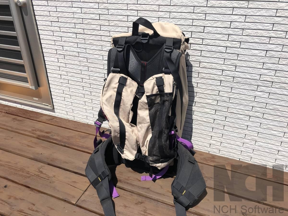Aarn Bodypack ニュージーランド (マックパック グラナイトギア)_画像5