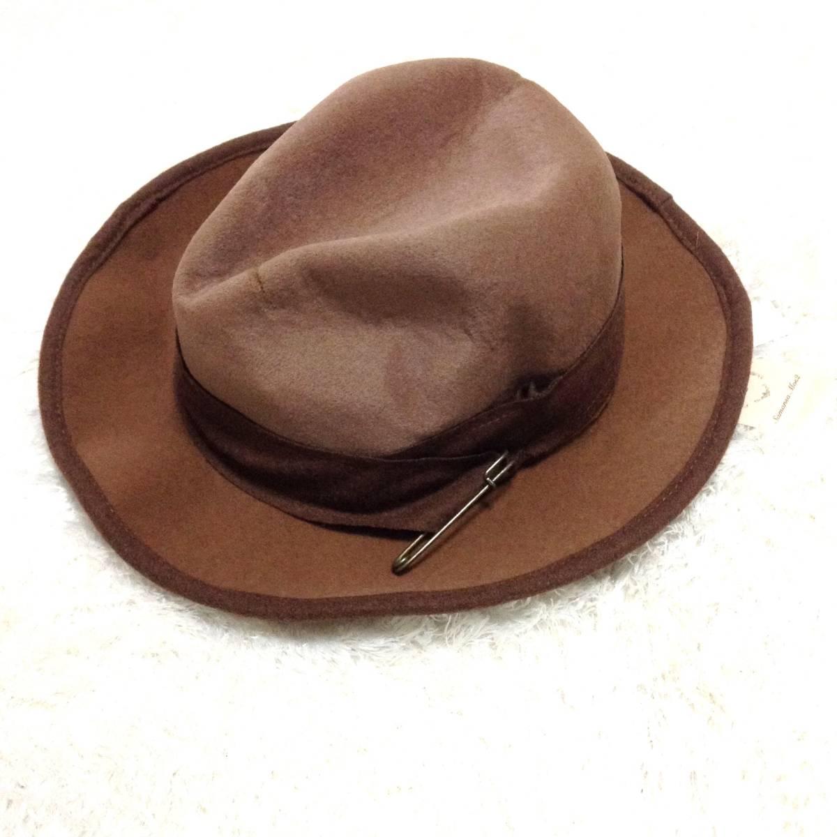 帽子 まとめ売り 中折れハット レディース タグ付き 新品 未使用 匿名配送 ファッション小物 女性用