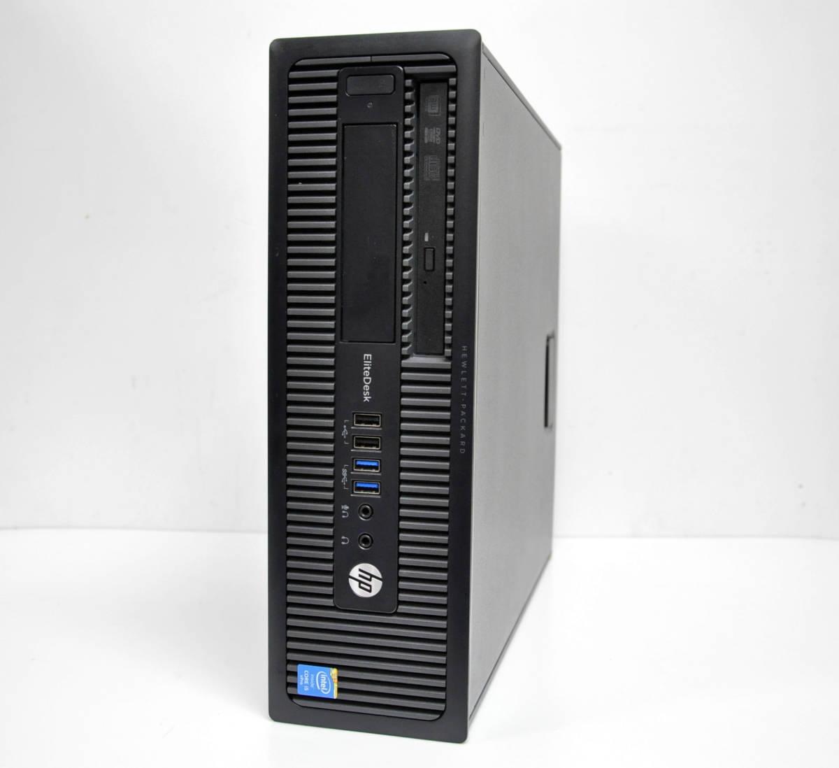 ★ HP EliteDesk 800G1SFF 高性能 Corei5-4590 3.3GHz / メモリ8GB / 新品SSD240GB / Radeon HD7570 / Win10 64BIT PRO_画像1