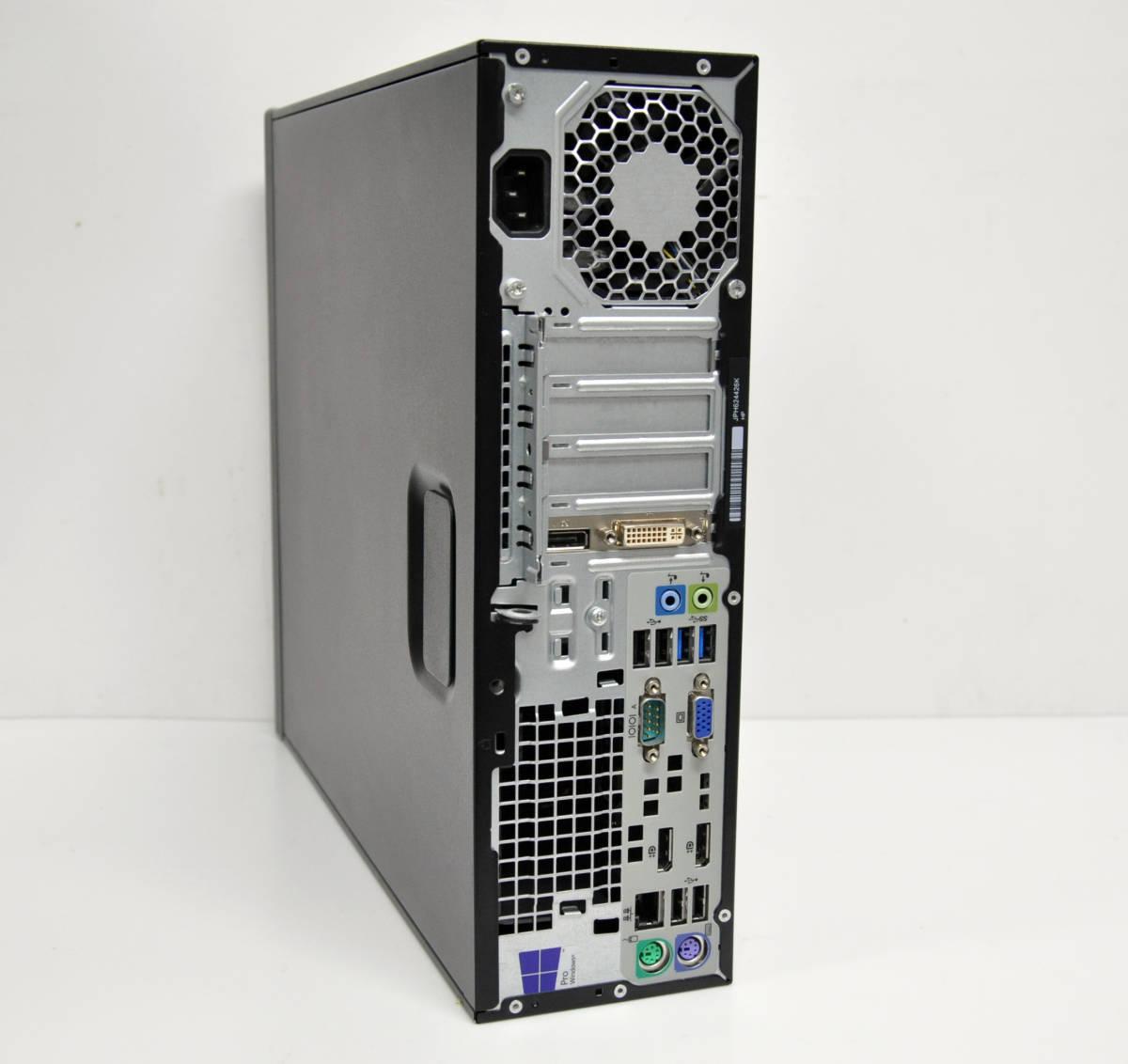 ★ HP EliteDesk 800G1SFF 高性能 Corei5-4590 3.3GHz / メモリ8GB / 新品SSD240GB / Radeon HD7570 / Win10 64BIT PRO_画像2