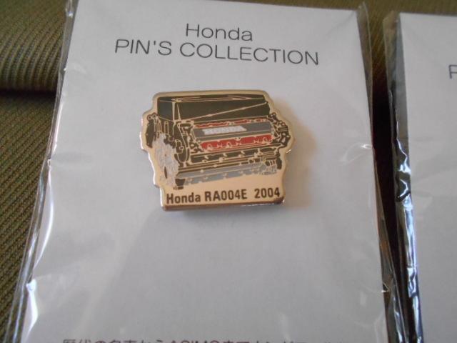 ホンダ ピンズコレクション ホンダF1 エンジンピンズ 3種セット 2004年~06年_画像2