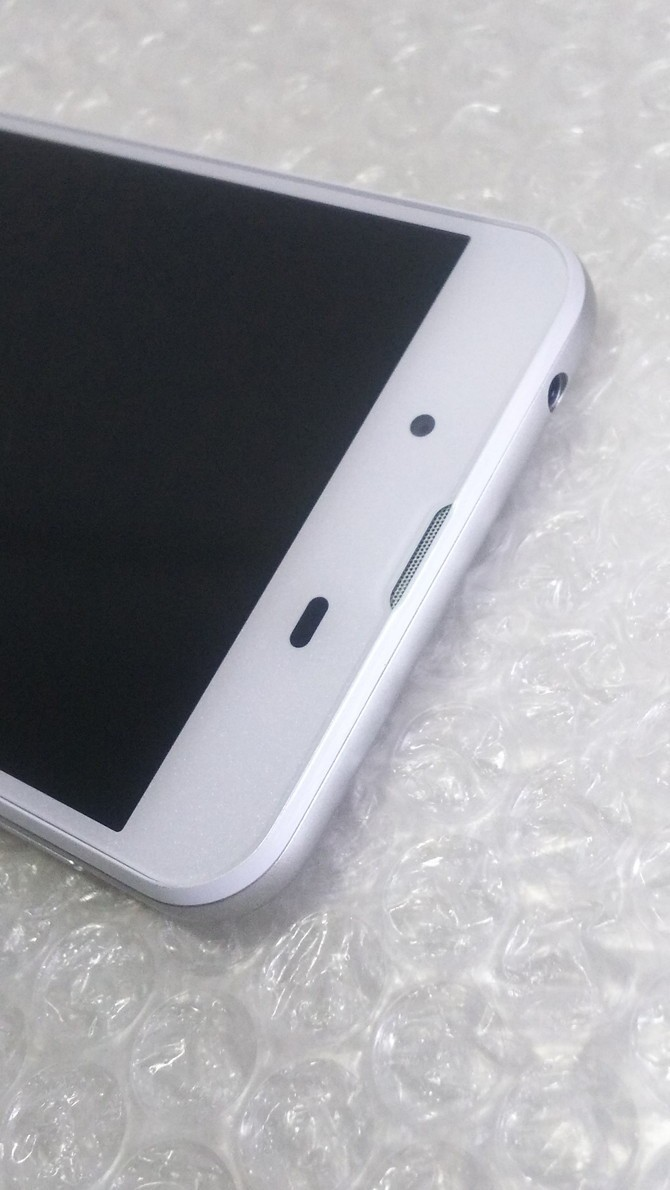 SHARP AQUOS L2 ホワイト White SIMロック解除済み SIMフリー 本体 白ロム 538231_画像6