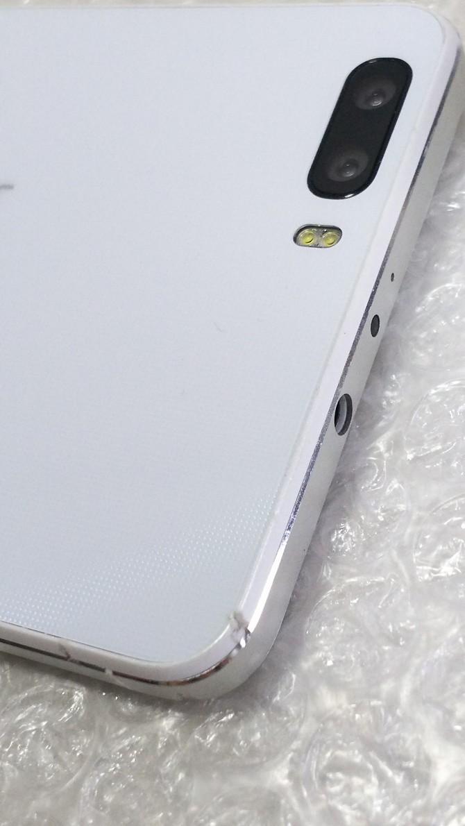 Huawei honor6 plus ホワイト White 本体 白ロム SIMロック解除済み SIMフリー 508175_画像4
